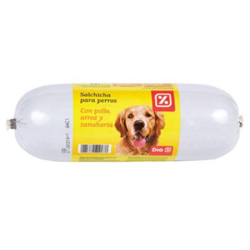DIA salchicha para perros con pollo, arroz y zanahoria pieza 1 Kg