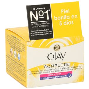 OLAY Complete care crema hidratante de noche tarro 50 ml