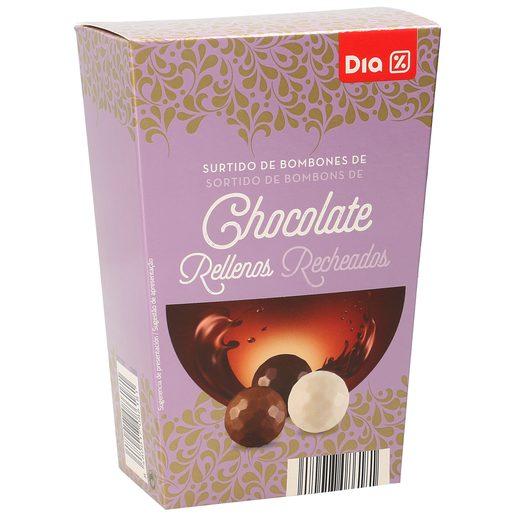 DIA bombones de chocolate rellenos caja 200 gr