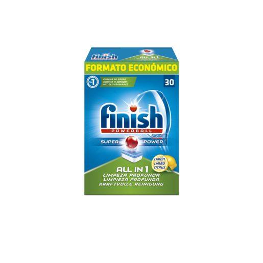 FINISH lavavajillas todo en uno original en cápsulas 30 uds