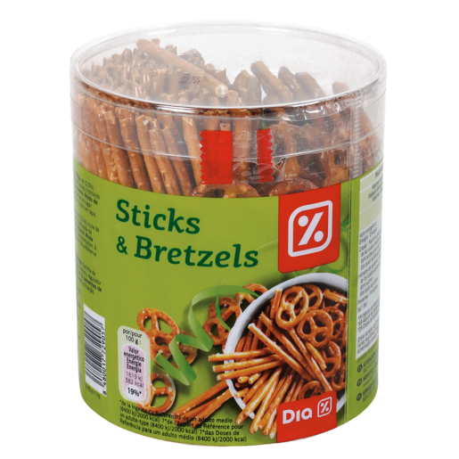 DIA p.salados & bretzels tubo 300GR