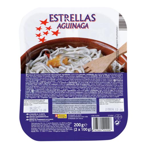 ESTRELLAS AGUINAGA envase 200 gr
