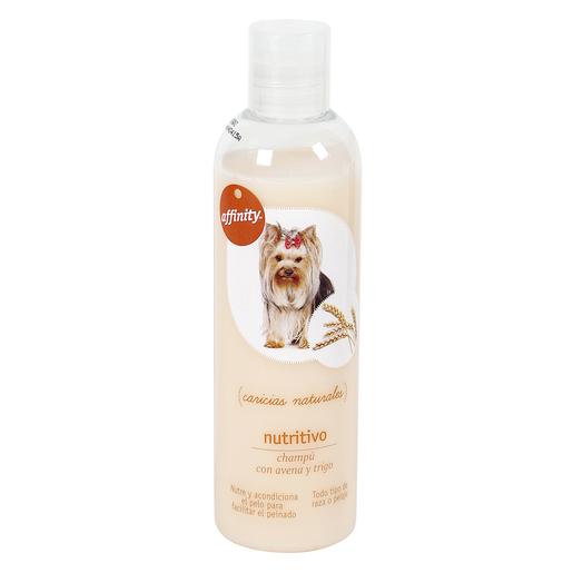 AFFINITY champú nutritivo para perros todo tipo de razas botella 250 ml