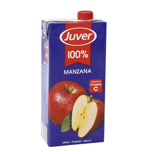 JUVER zumo concentrado 100% manzana envase 1 lt