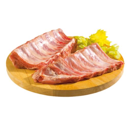 Costilla de cerdo en trozos (peso aprox. 520 gr)
