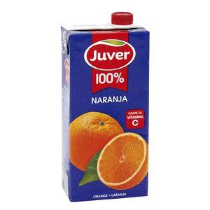 JUVER zumo concentrado 100% naranja envase 1 lt