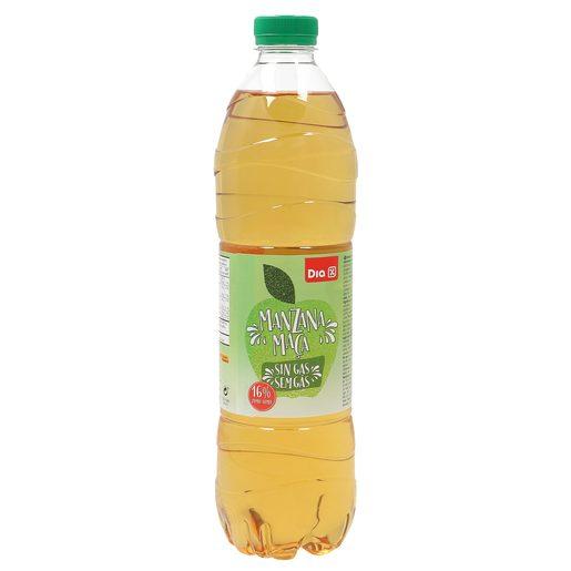 DIA bebida de zumo de manzana botella 1.5 lt