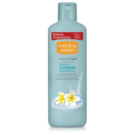 NATURAL HONEY gel de ducha frescor de colonia experience bote 650 ml