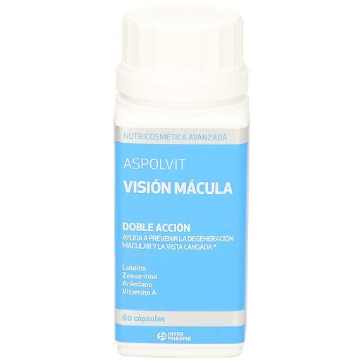 ASPOLVIT visión mácula doble acción bote 60 cápsulas