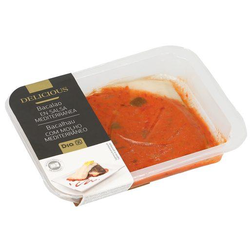 DIA DELICIOUS bacalao en salsa mediterránea tarrina 250 gr