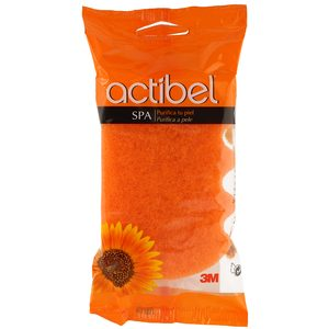 ACTIBEL esponja de baño suave bolsa 1 ud