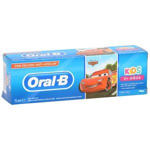 ORAL B Kids pasta dentífrica suave +3 años tubo 75 ml (diferentes modelos)