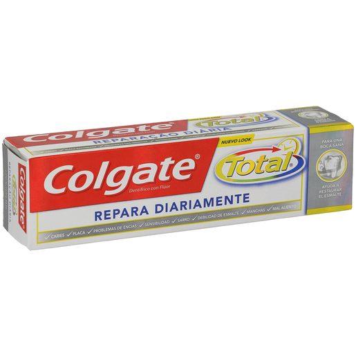 COLGATE TOTAL pasta dentífrica repara diariamente tubo 75 ml