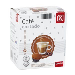 DIA café cortado 16 cápsulas caja 96 gr