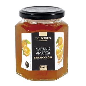 DIA DELICIOUS mermelada de naranja amarga frasco 320 gr