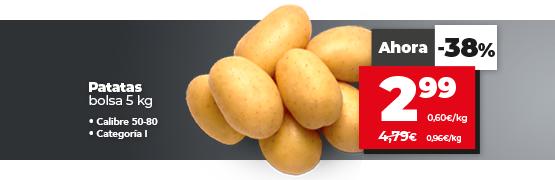 Oferta patatas en dia.es