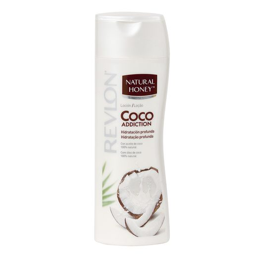 NATURAL HONEY loción corporal coco addiction hidratante bote 330 ml