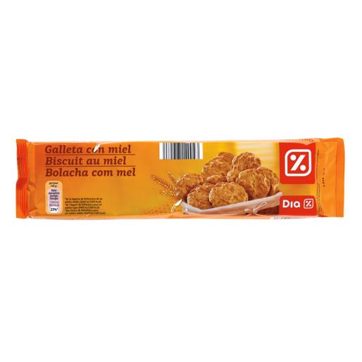 DIA galleta con miel paquete 185 gr