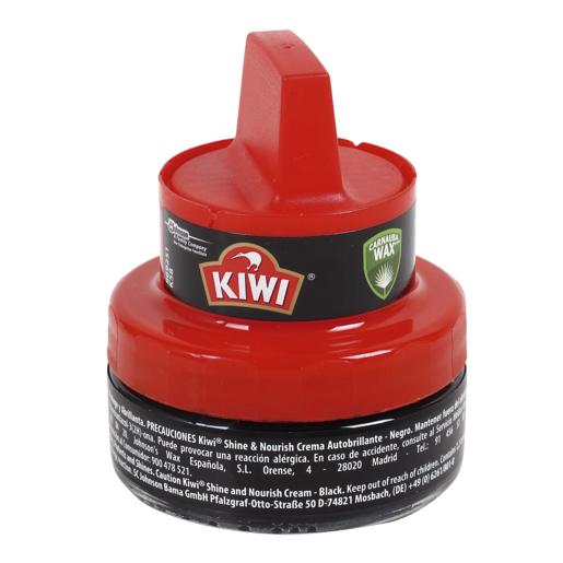 KIWI limpiador de calzado negro tarro 50 ml