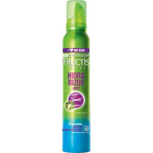 FRUCTIS STYLE espuma hidra rizos efecto mojado spray 200 ml