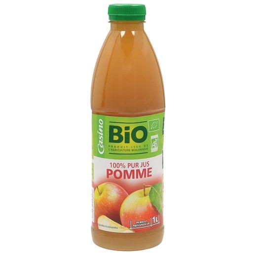 CASINO BIO zumo de manzana botella 1 lt
