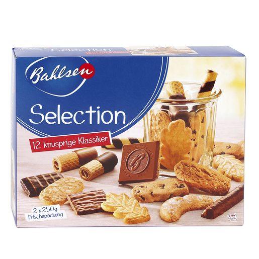 BAHLSEN Selection surtido de galletas caja 500 gr