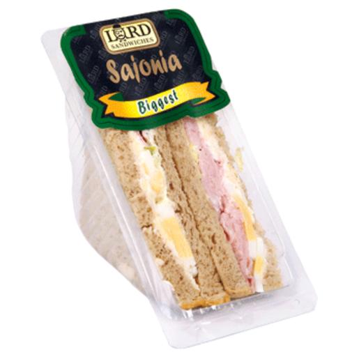 LORD SÁNDWICHES sándwich biggest de sajonia envase 230 g