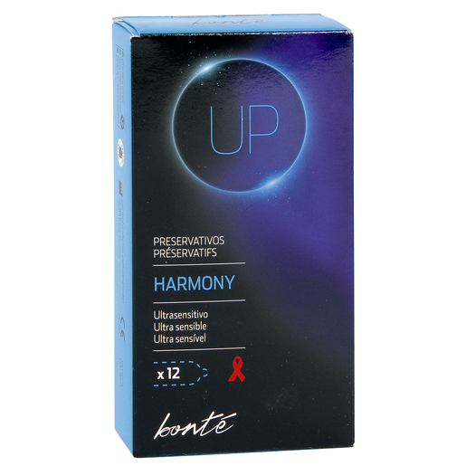 BONTE preservativos harmony ultrasensitivo caja 12 uds