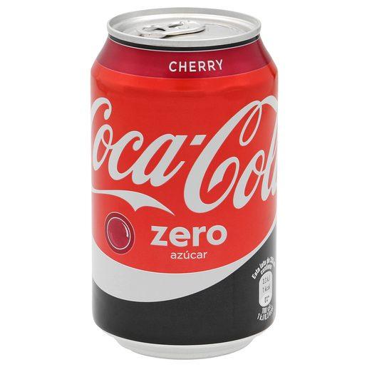 COCA COLA zero cherry lata 33 cl