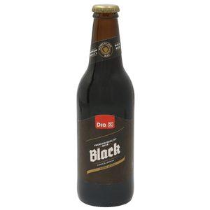 DIA cerveza negra botella 33 cl