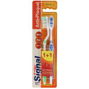 SIGNAL cepillo dental essential blister 2 unidades
