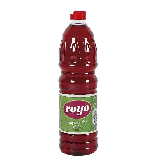 ROYO vinagre de vino tinto botella 1 lt