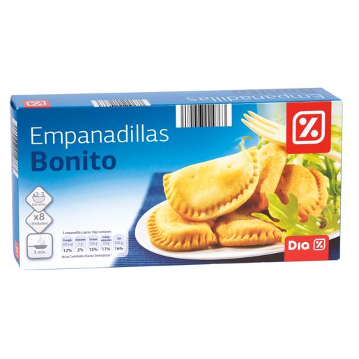 DIA empanadillas de bonito caja 8 uds 250 gr