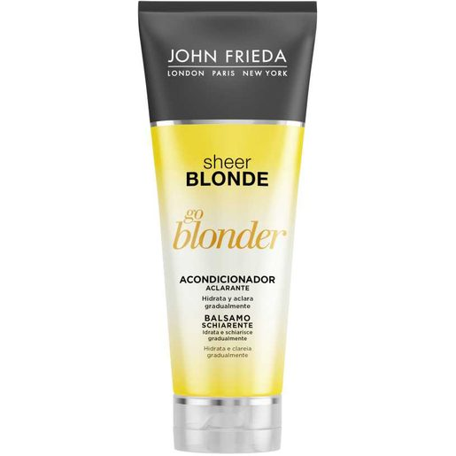 SHEER BLONDE acondicionador aclarante cabello rubio tubo 250 ml