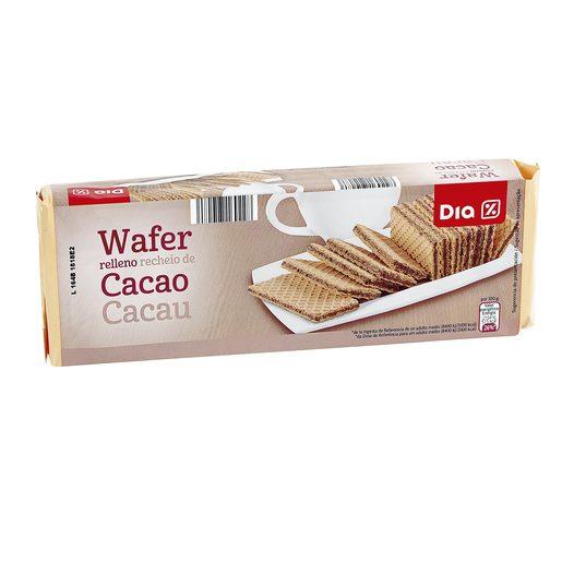 DIA barquillo relleno de cacao paquete 240 gr