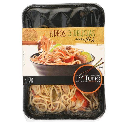 TA TUNG fideos tres delicias bandeja 300 gr