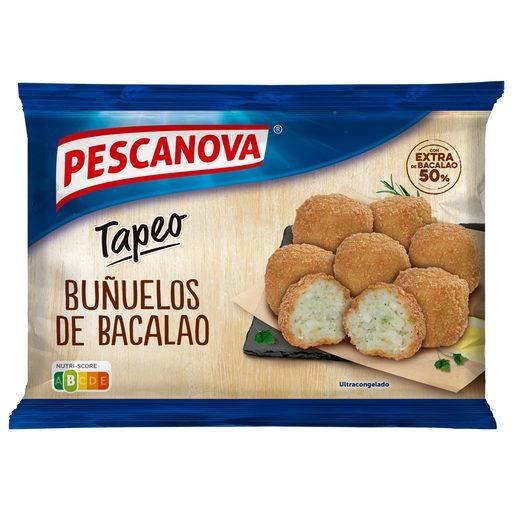 PESCANOVA buñuelos de bacalao bolsa 300 gr