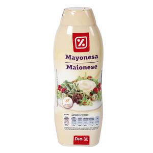 DIA mayonesa bocaabajo bote 500 ml