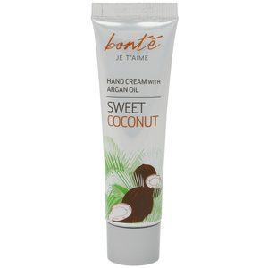 BONTE crema de manos coco con aceite de argán tubo 30 ml