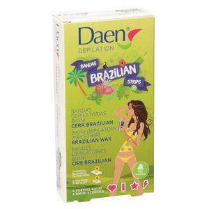 DAEN Brazilian bandas depilatorias bikini caja 16 uds