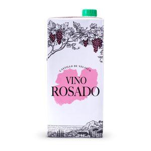 CASTILLO DE VELASCO vino rosado envase 1 lt