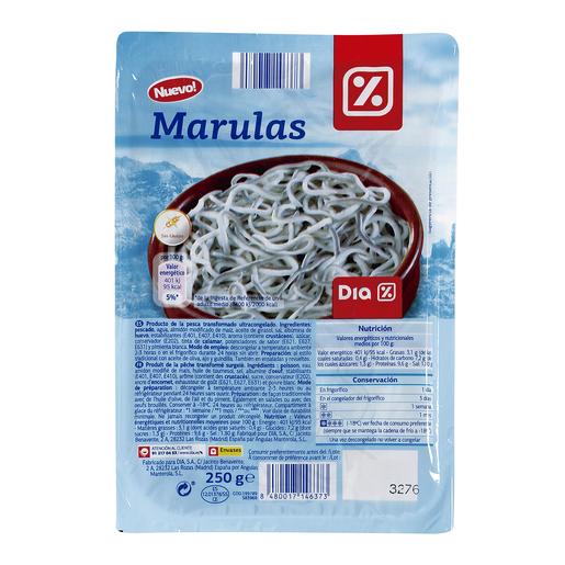 DIA marulas envase 250 gr