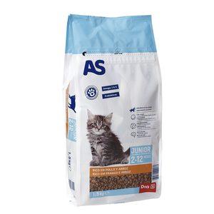AS alimento para gatos junior bolsa 1,5 kg