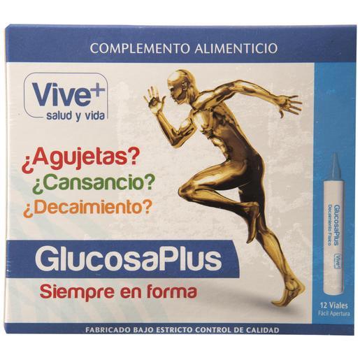 VIVE+ SALUDYVIDA glucosaplus caja 12 viales