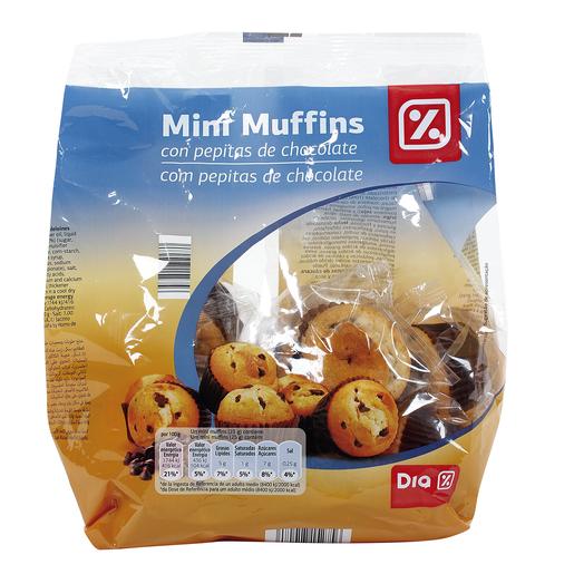 DIA mini muffins con pepitas de chocolate bolsa 300 gr