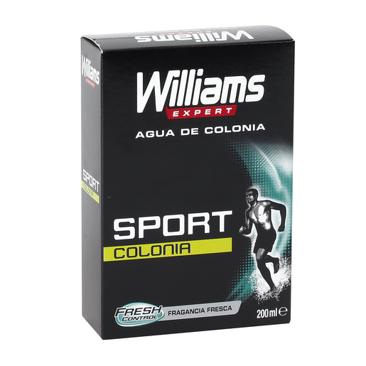 WILLIAMS agua de colonia sport frasco 200 ml