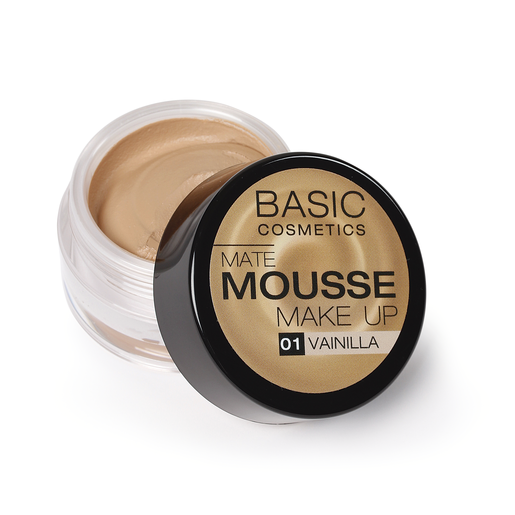 BASIC Mate Mousse base de maquillaje matificante 1 Vainilla