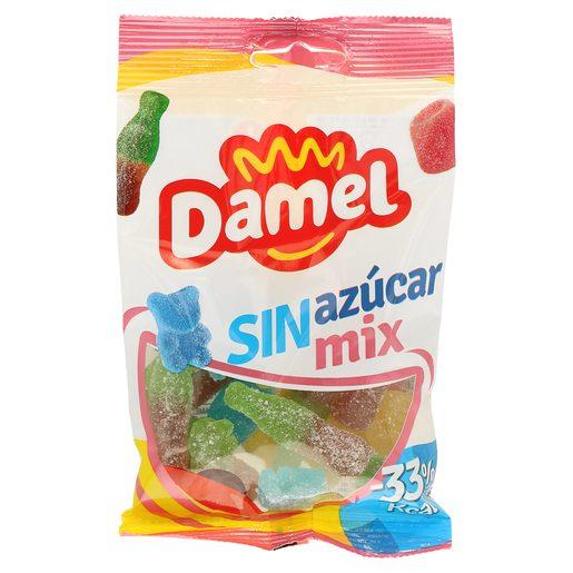 DAMEL golosinas mix sin azúcar bolsa 100 gr