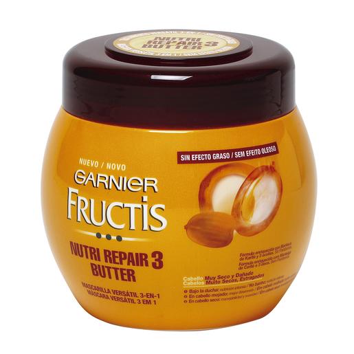 FRUCTIS mascarilla capilar nutri repair 3 butter cabello muy seco 400 ml