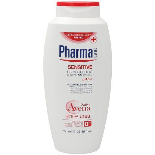 PHARMALINE gel de ducha sensitive bote 750 ml